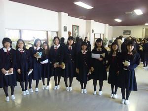 聖霊高等学校制服画像